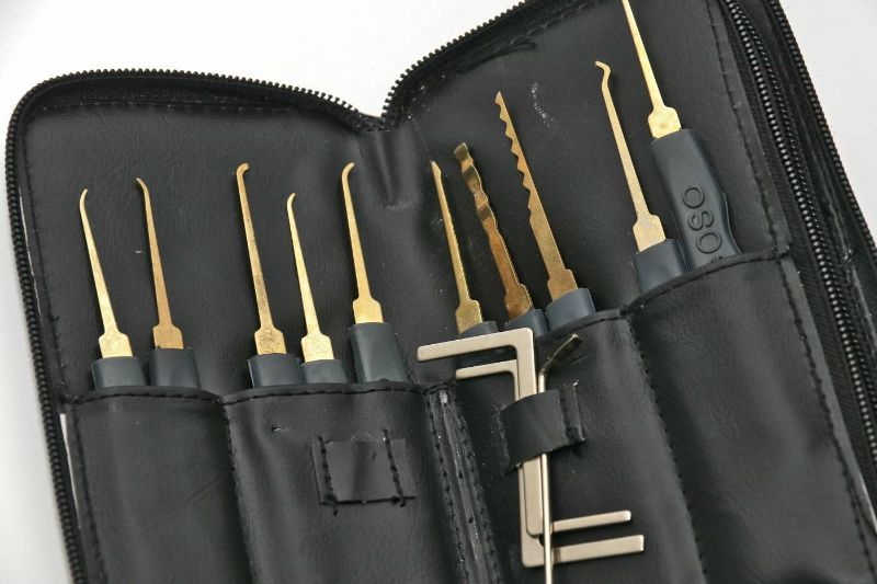 Lockpicking-Besteck